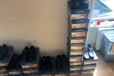 Shoes for Sale @ GCS Office