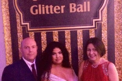 Fabulous evening at Jade's Glitter Ball