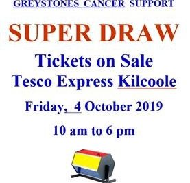 GCS Super Draw Tickets On Sale Tesco Express Kilcoole