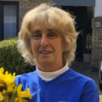 Yvonne shows Community Spirit on Daffodil Day